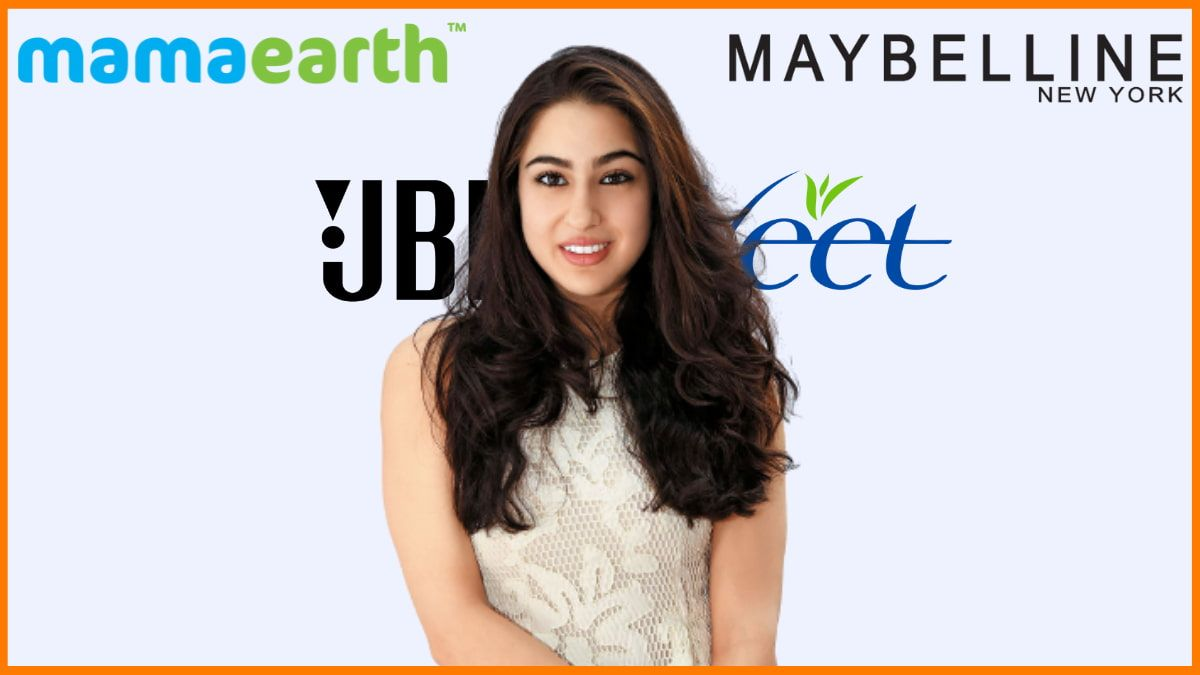 List of Brands Endorsed by Sara Ali Khan