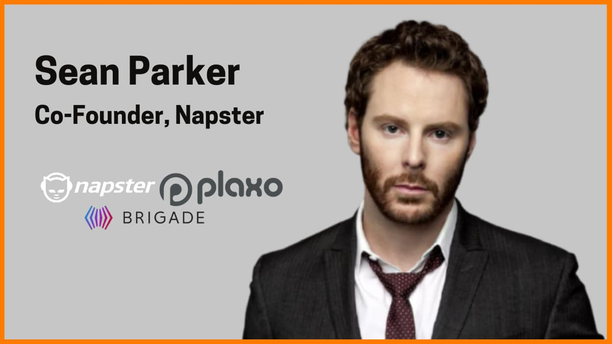 Sean Parker - Facebook's First President and Co-Founder of Napster