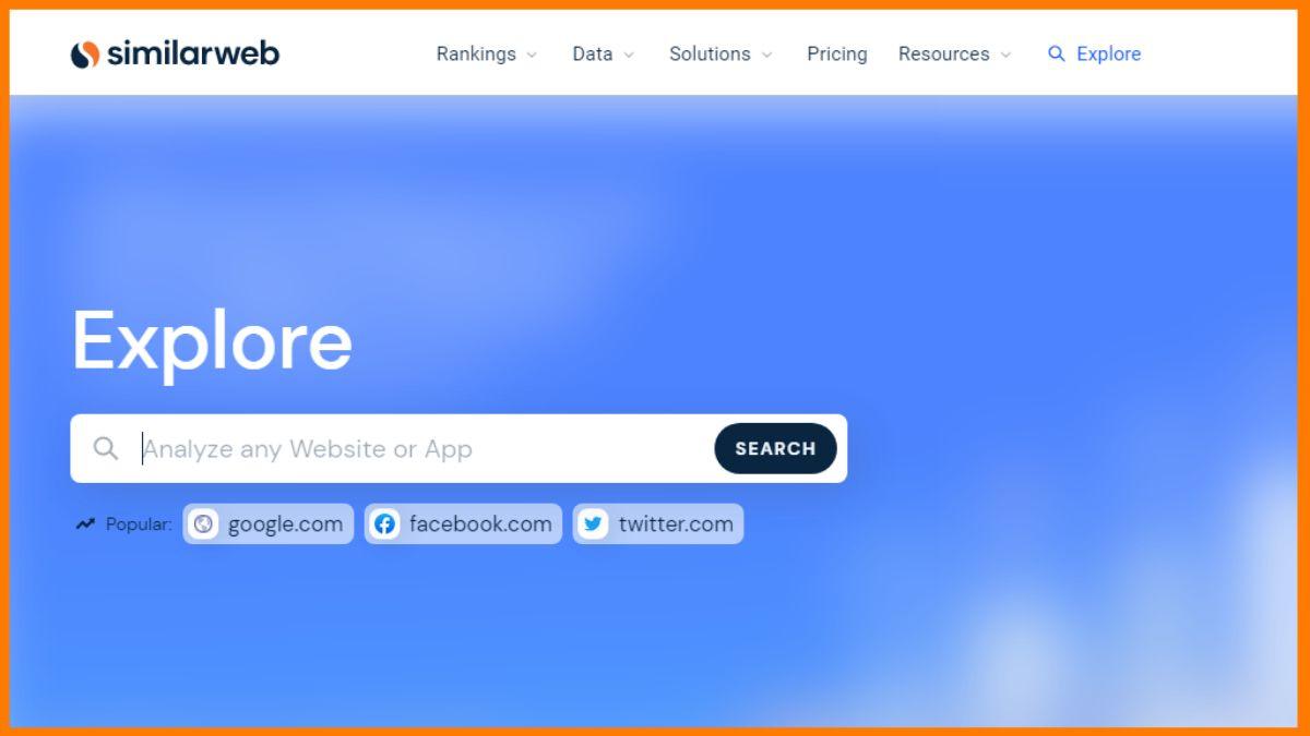 Similarweb | Best Competitor Website Analysis Tools