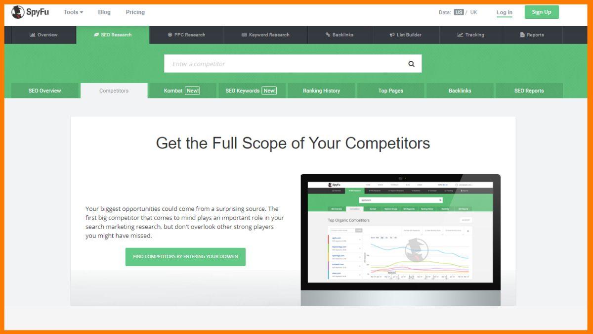 SpyFu | Best Competitor Website Analysis Tools