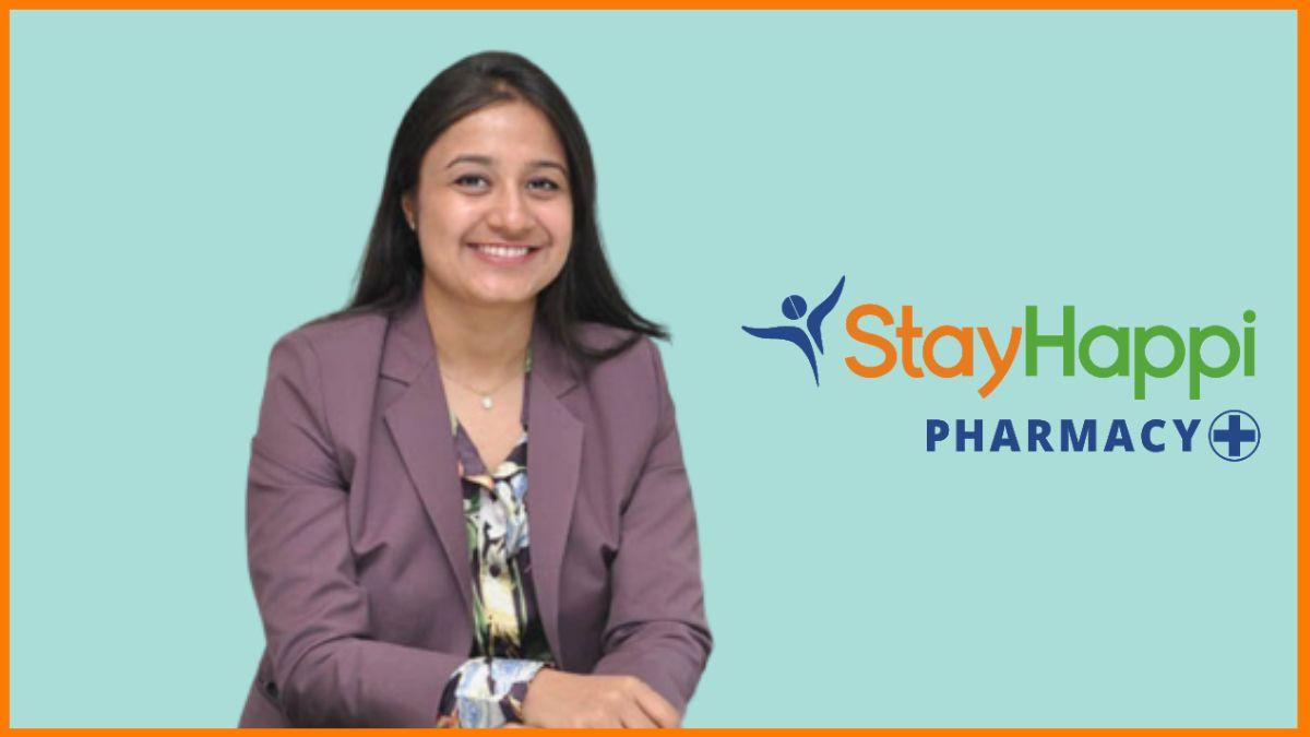 Arushi Jain - Owner of StayHappi Pharmacy