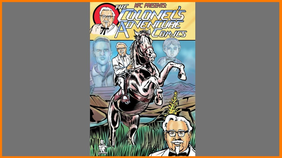 The Colonel's Adventure Comics