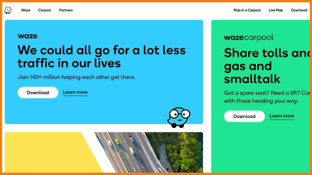 Waze Website