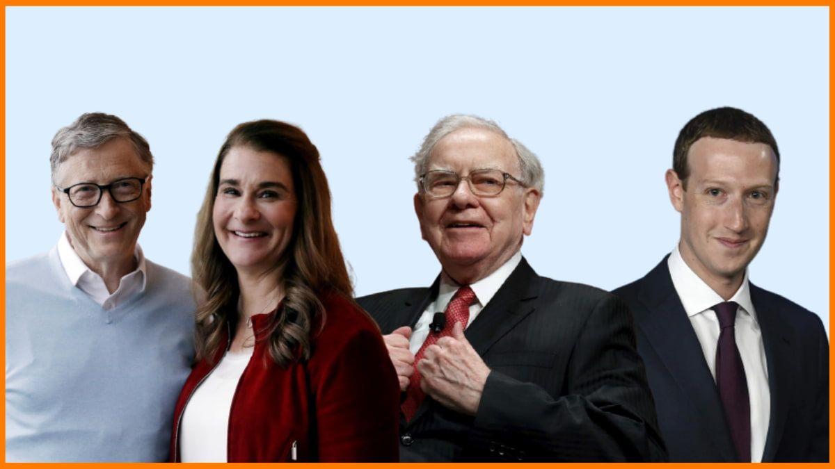 List of Top 8 World's biggest Philanthropists in 2021