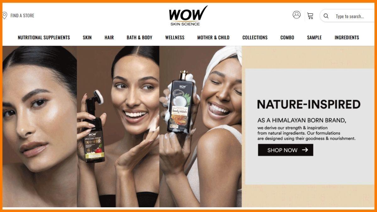 Wow Skin Science Website