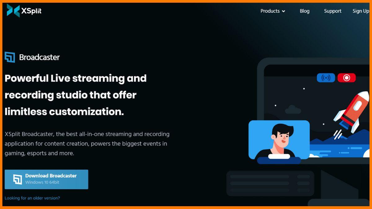 XSplit Broadcaster Website
