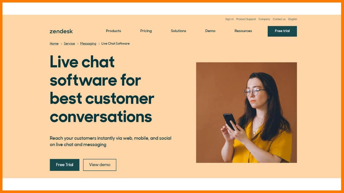 Zendesk Chat - Chatbot Saas Tools