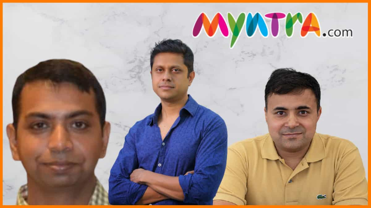 Founders of Myntra