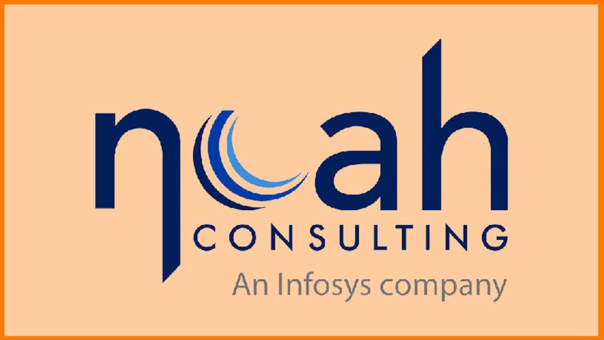 Noah Consulting - Infosys Subsidiary