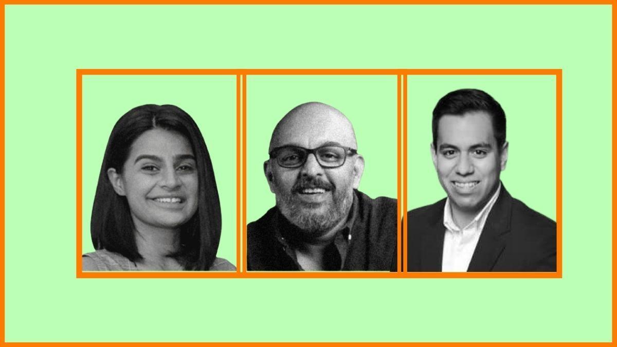 Bhavna Suresh, Deepak Nair and Joel Ayala | 10Club Co-founders