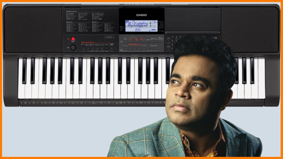 Casio- Brand endorsed by A R Rahman