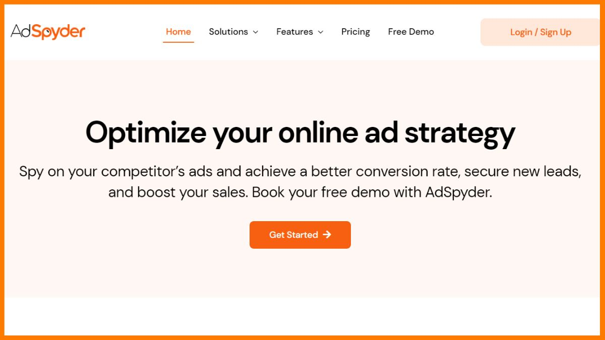 AdSpyder- SEO Competitor Analysis tools