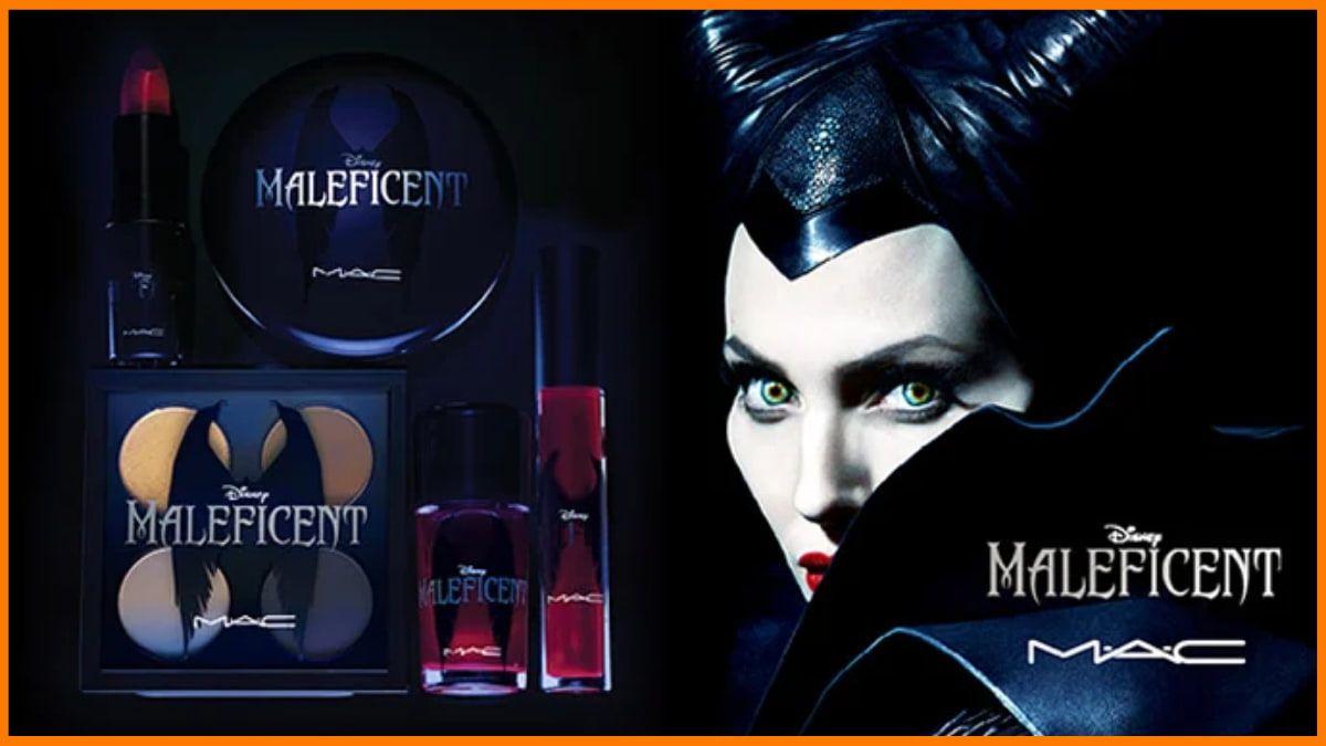 Angelina Jolie Mac x Disney Maleficent