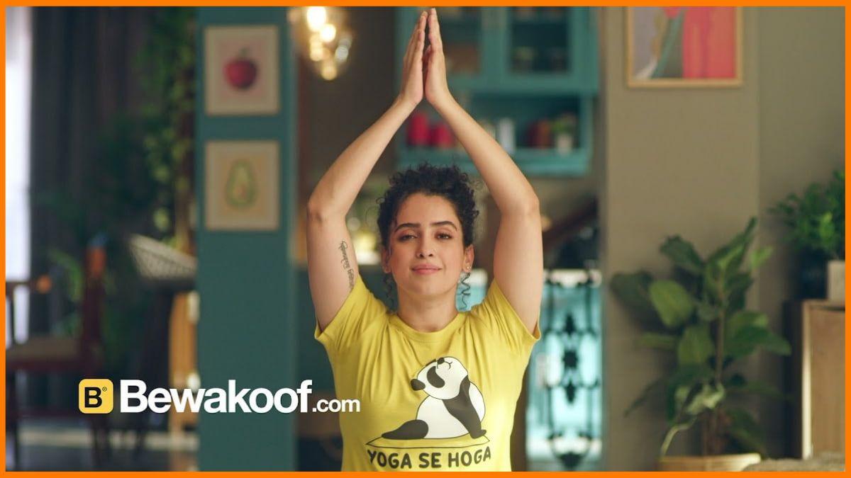 Sanya Malhotra Bewakoof Endorsement