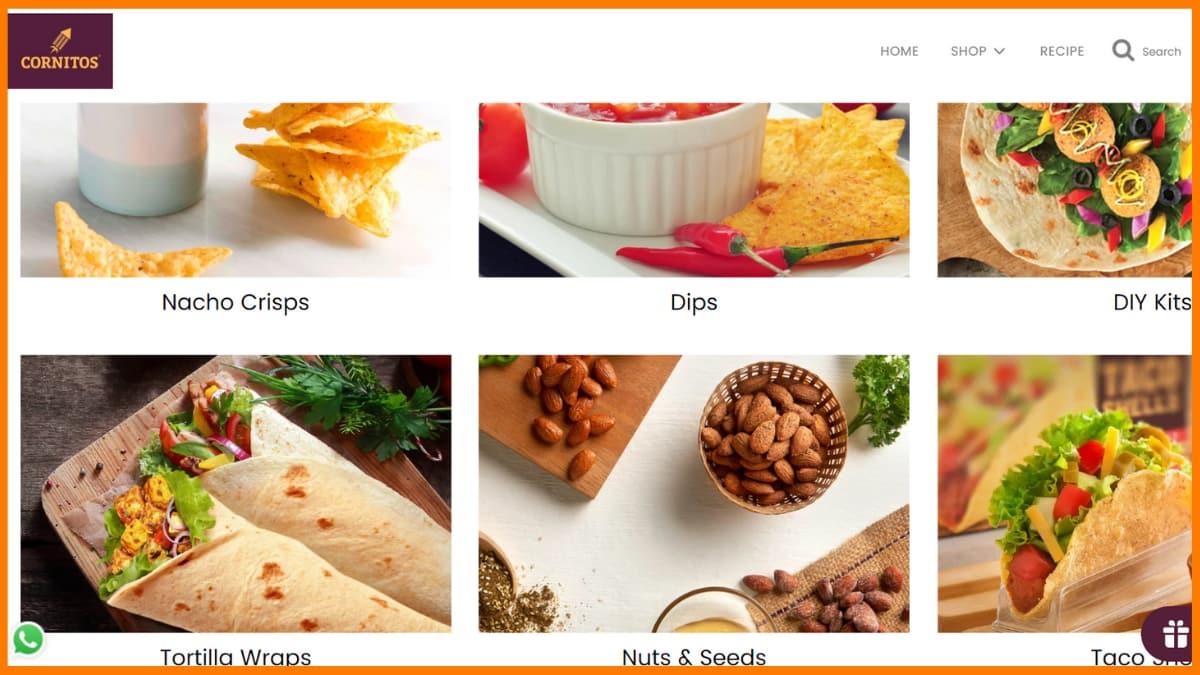 Cornitos Website