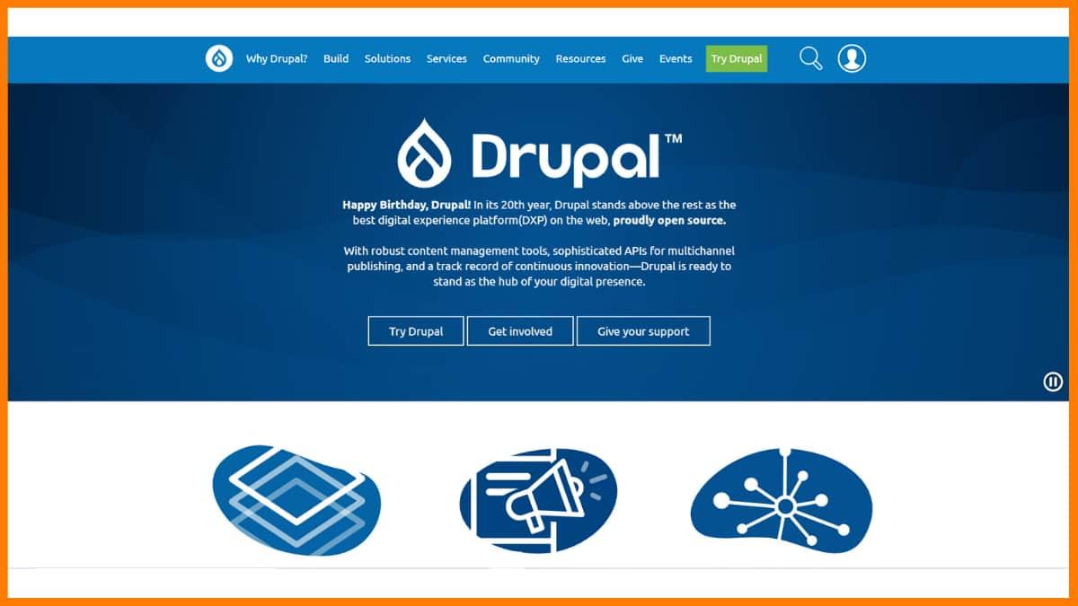 Drupal Website | Best Content Management System