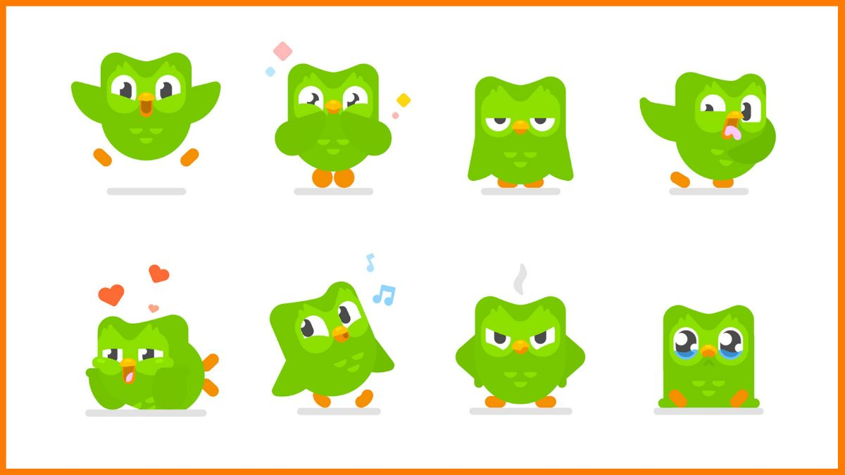 Duolingo app for learning different languages