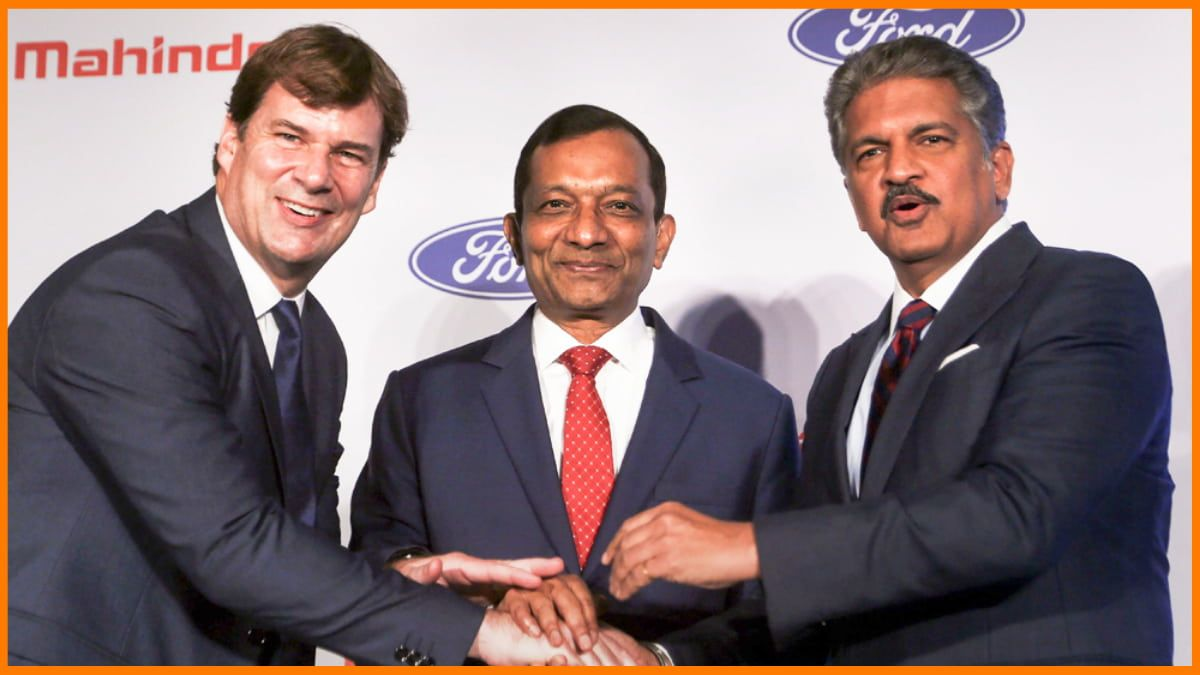 Ford's joint venture with Mahindra & Mahindra in October 2019