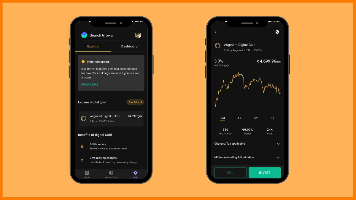 Groww Gold Investment Platform | Digital Gold Investment Platform