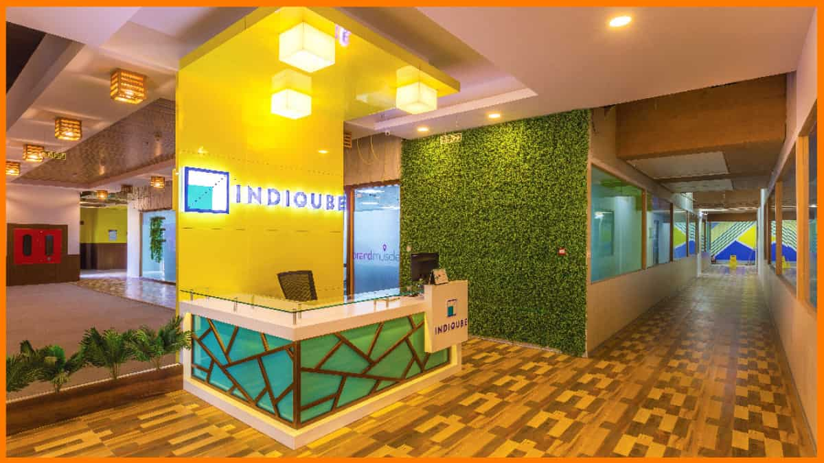 IndiQube - Coworking space in Bangalore