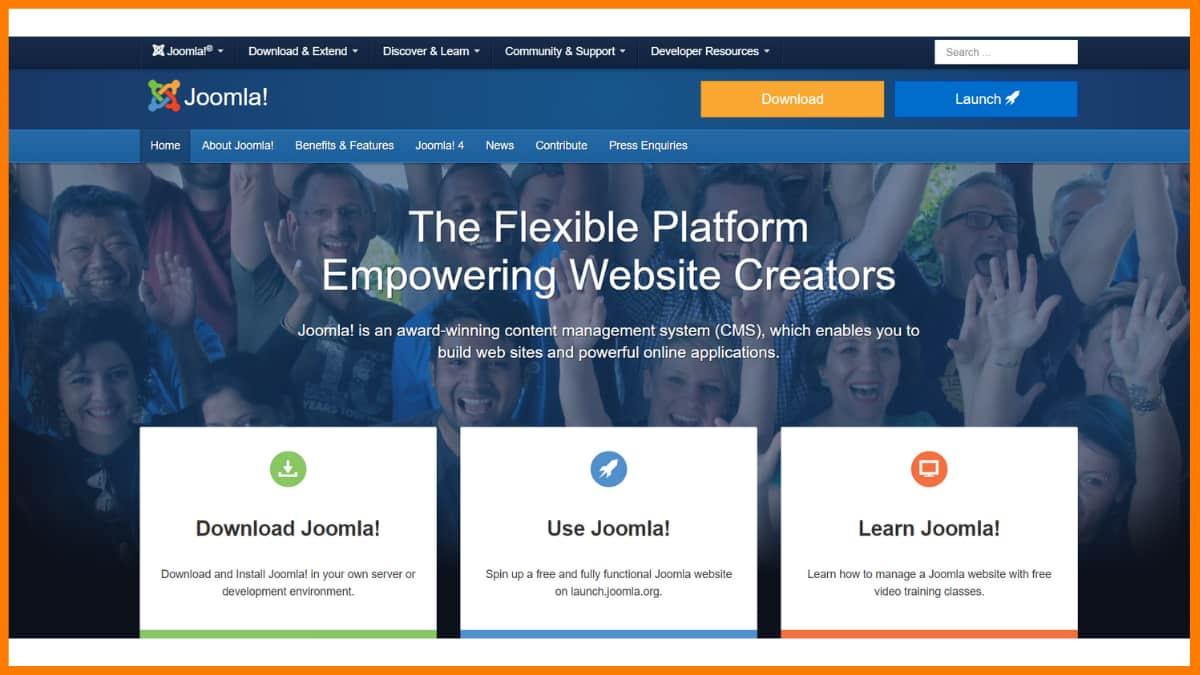 Joomla Website | Best Content Management System