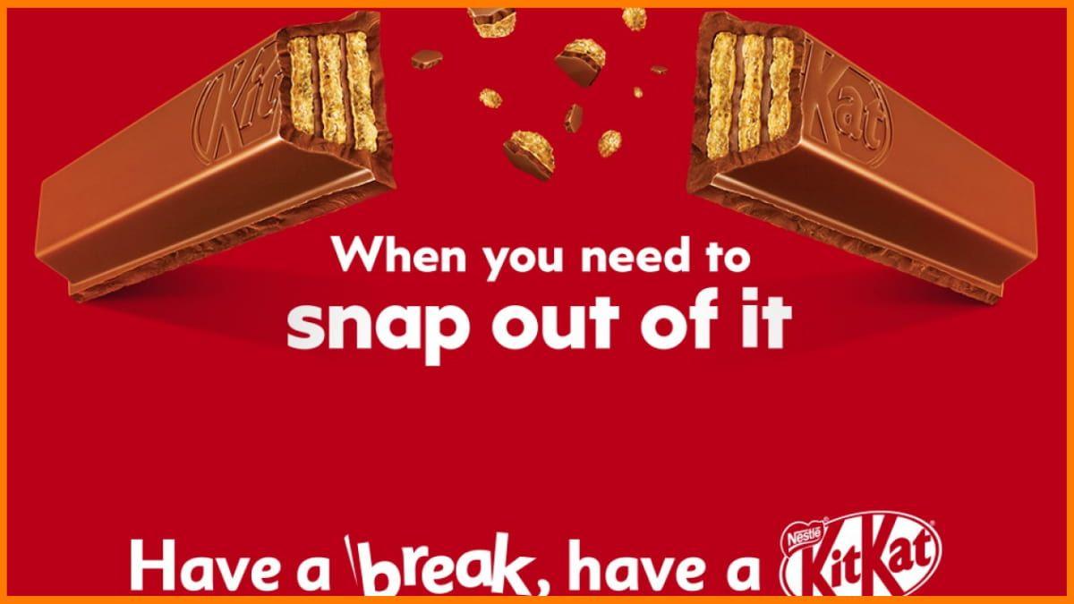 KitKat Print Advertisement