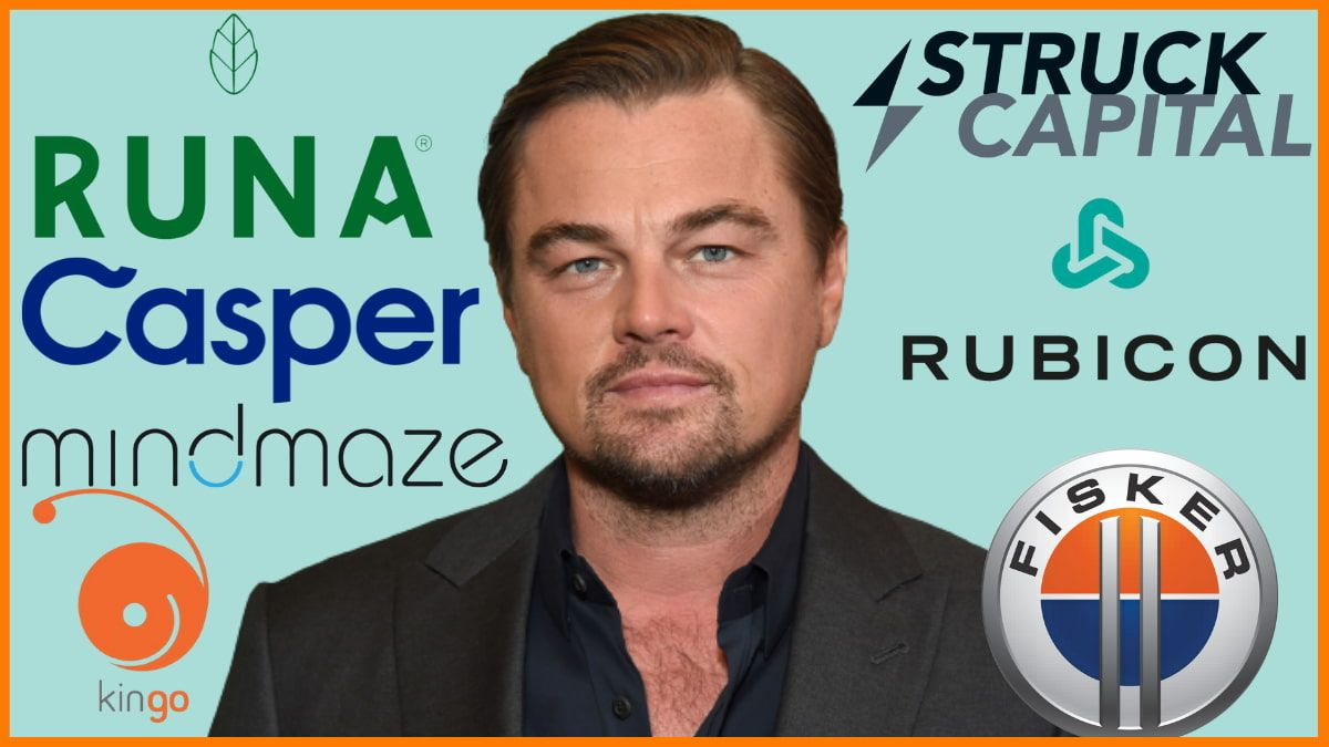 Startups That Are Funded by Leonardo DiCaprio