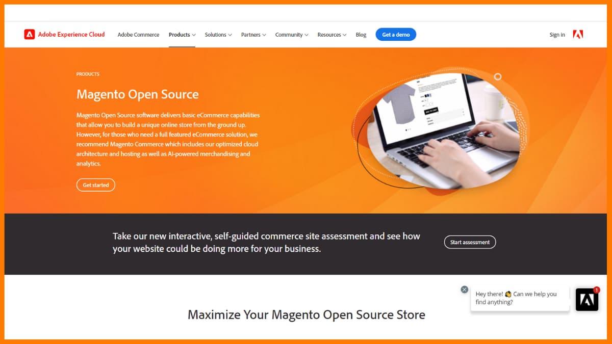 Magento Website | Best Content Management System