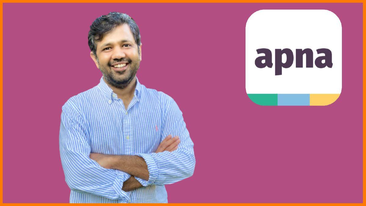 Founder of Apna - Nirmit Parikh