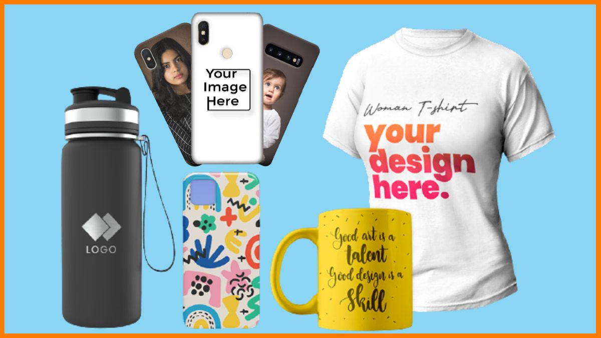 Customized printed products - Most Profitable Niches for Dropshipping