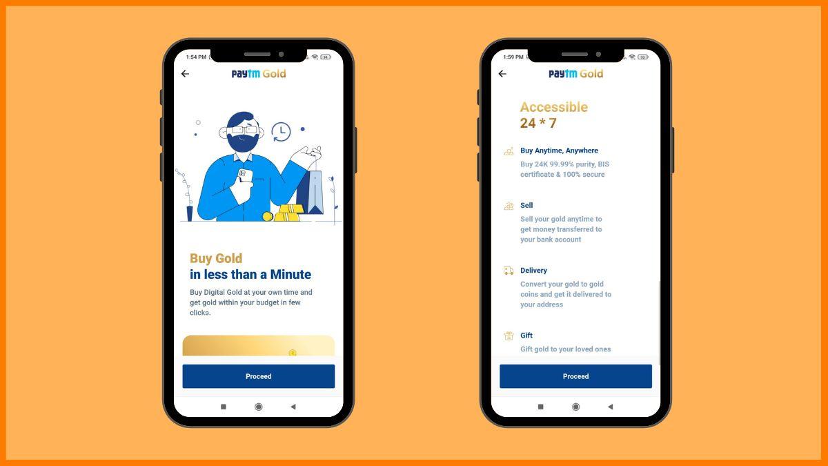 Paytm Gold Investment platform | digital gold investment platform
