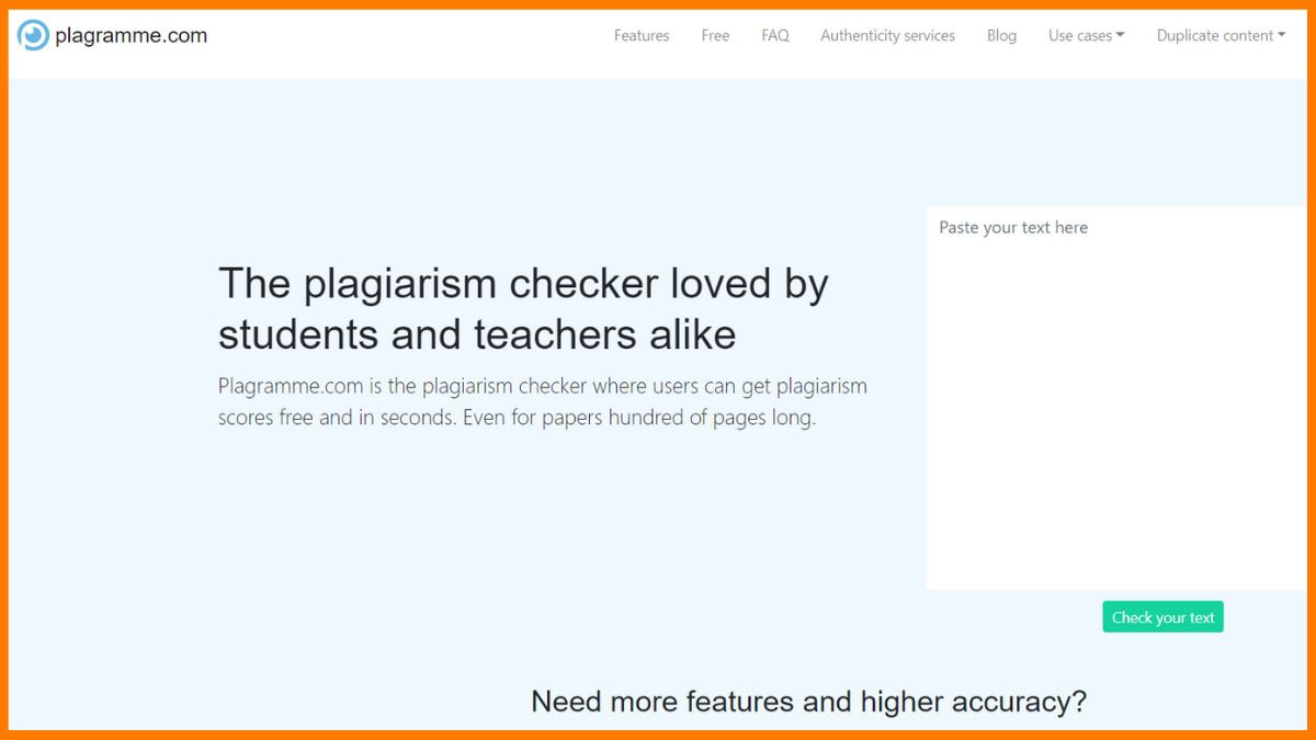 Plagramme | Best Plagiarism Checker