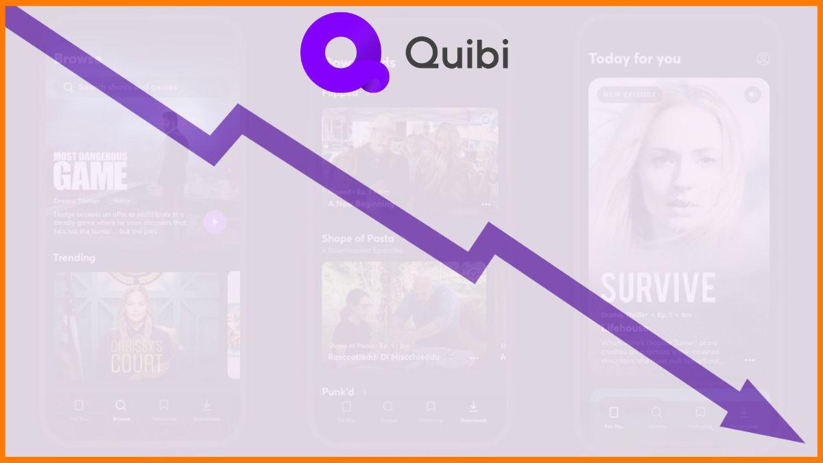 6 Reasons Why Quibi failed in less than a Year   Quibi Failure