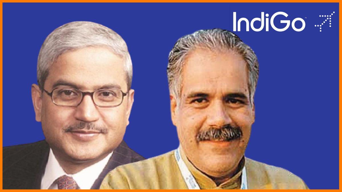 Rakesh Gangwal and Rahul Bhatia- Founders of Indigo Airlines