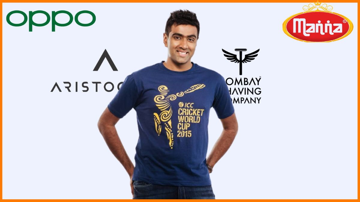 List of Brands Endorsed By Ravichandran Ashwin