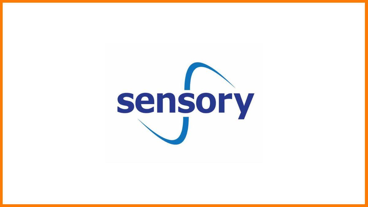 Sensory | Top facial recognition companies