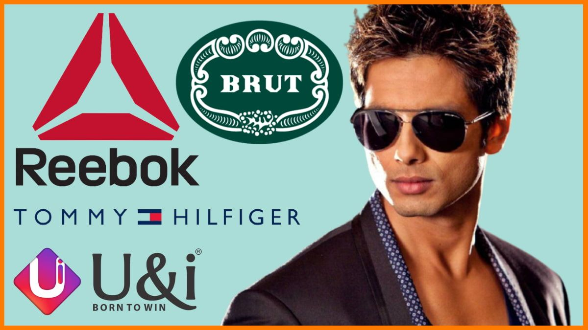 List Of Brands Endorsed By Shahid Kapoor