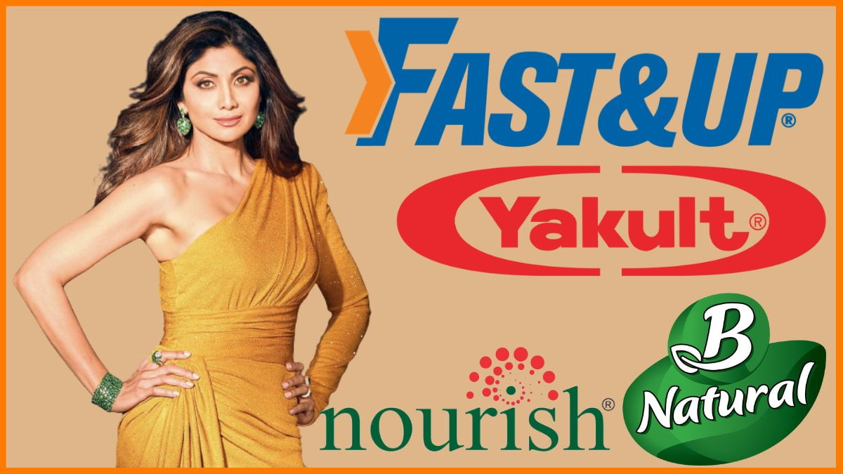 List Of Brands Endorsed by Shilpa Shetty