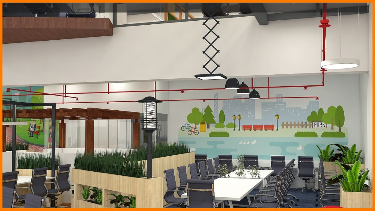 The Office Pass Coworking space in India