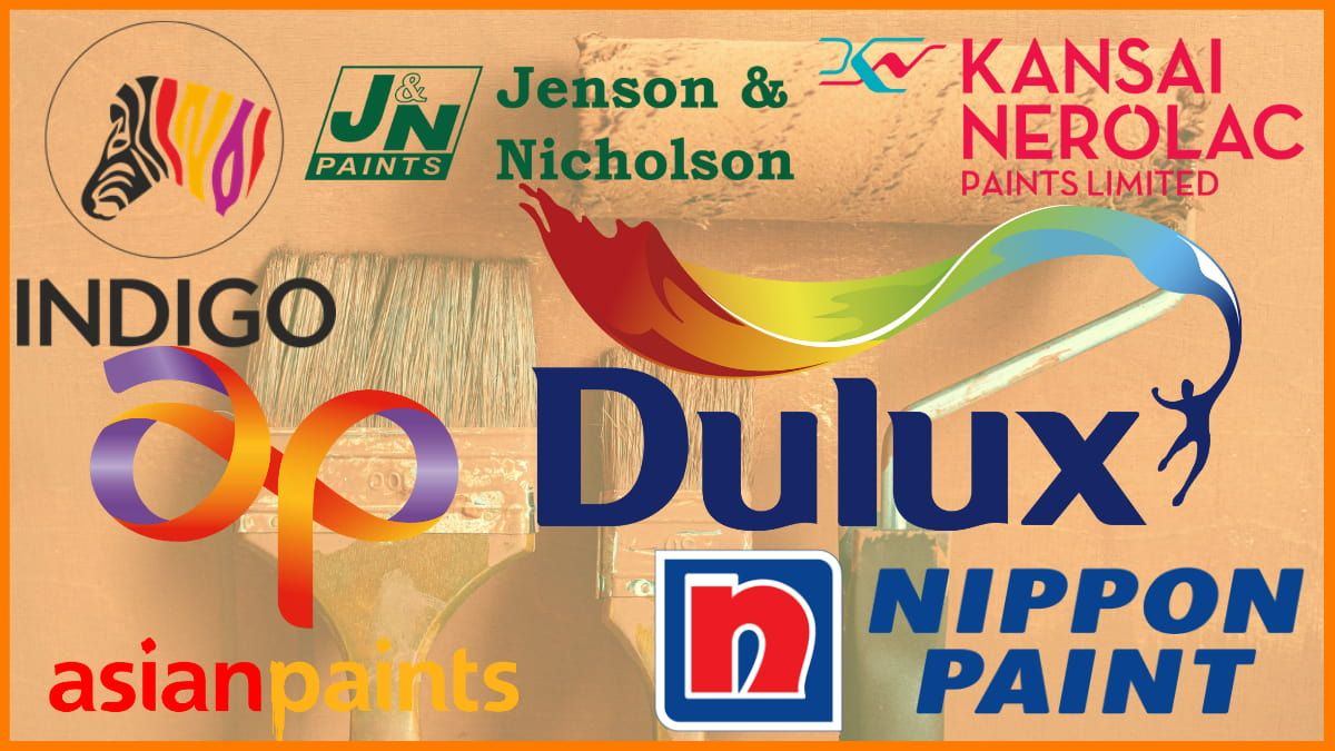 Top Paint Companies In India | Best Paint Brands