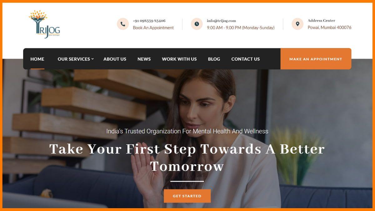 Trijog Website