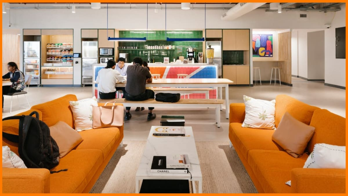 WeWork Coworking space in India