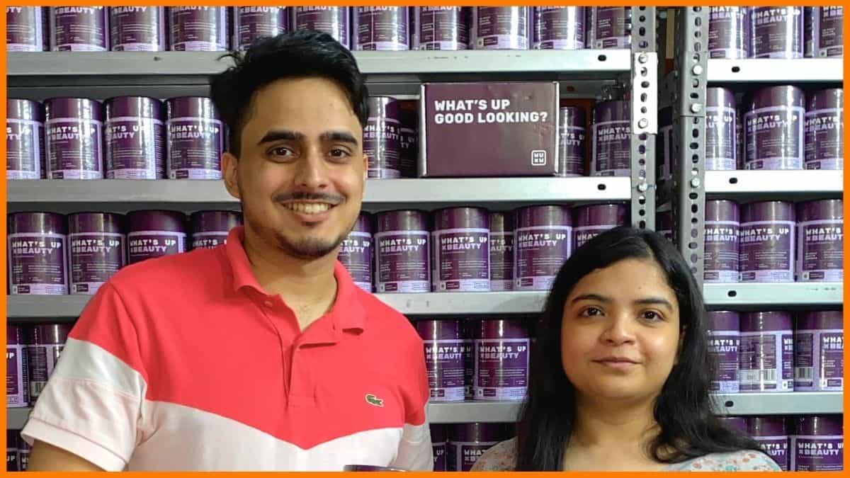 What's Up Wellness Founders Vaibhav Makhija and Sayantani Mandal