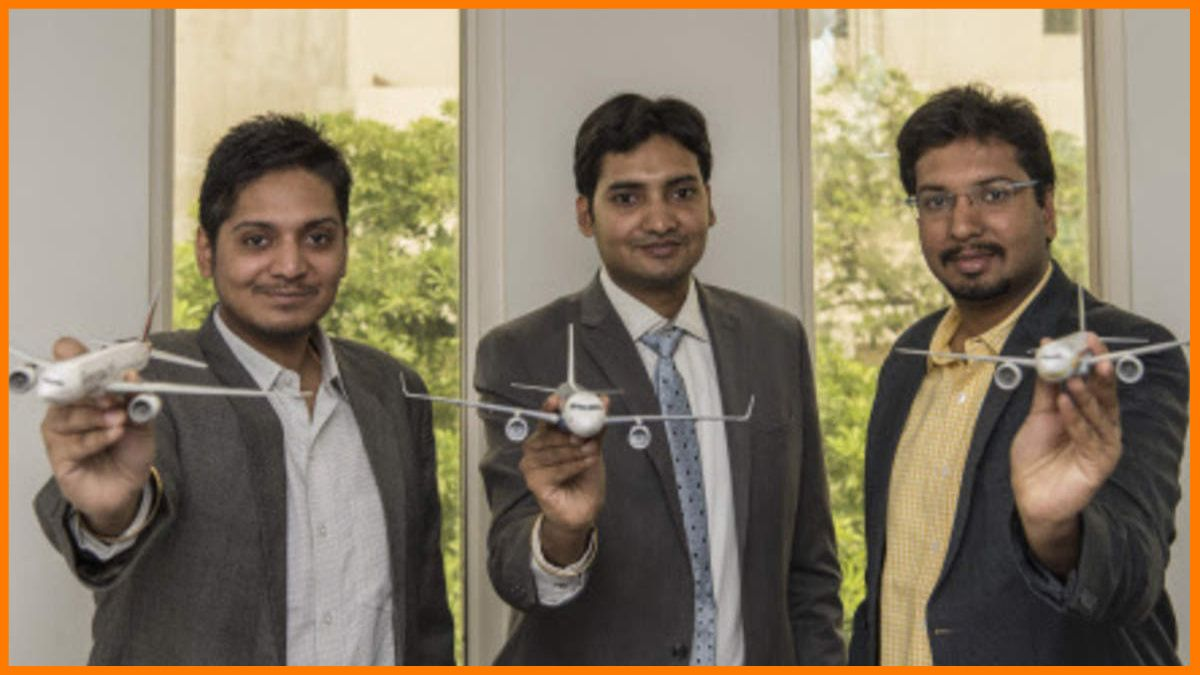 Nishant Pitti, Rikant Pitti, and Prashant Pitti - Founders of EaseMyTrip
