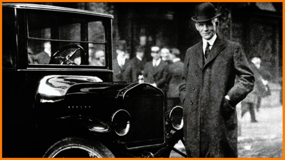 Founder of Ford - Henry Ford