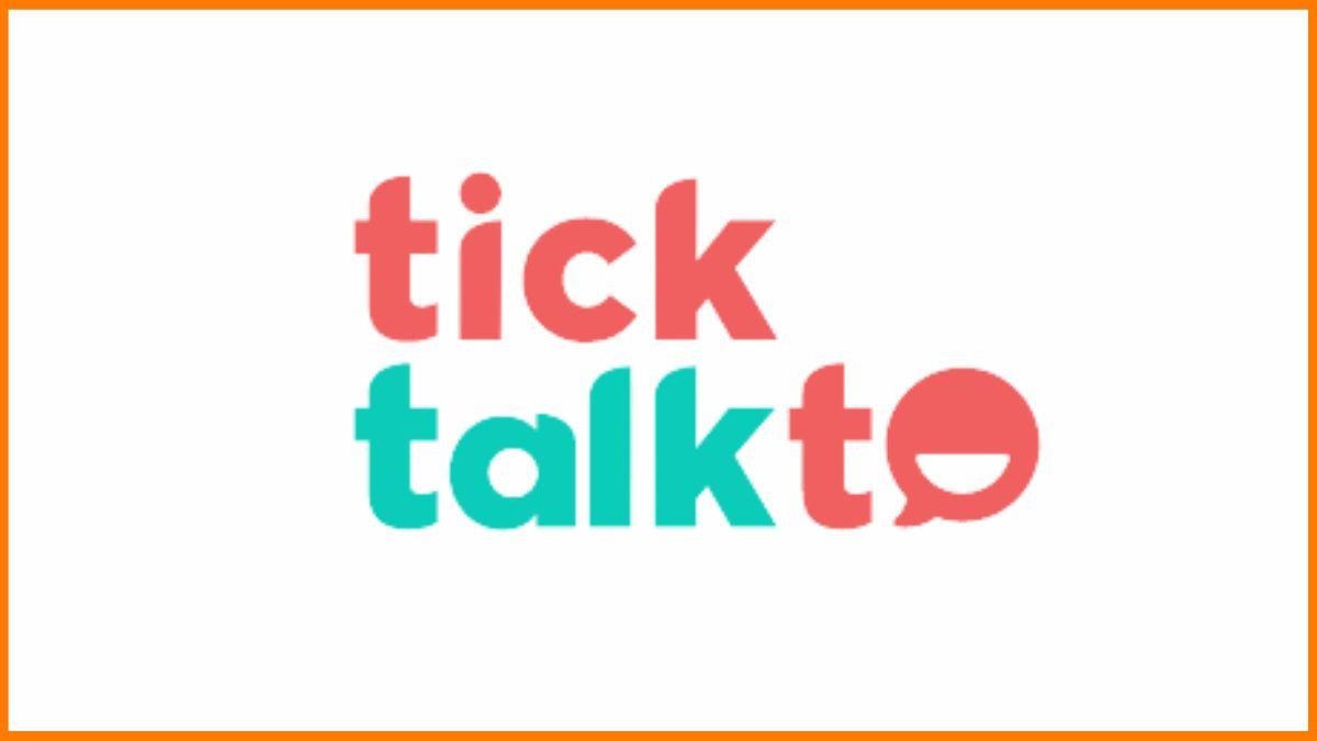 TickTalkTo Logo | Punjab Startups
