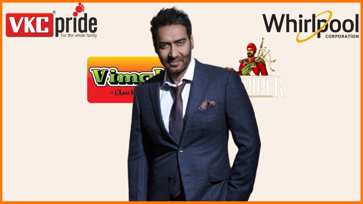 List of Brands Endorsed by Ajay Devgan