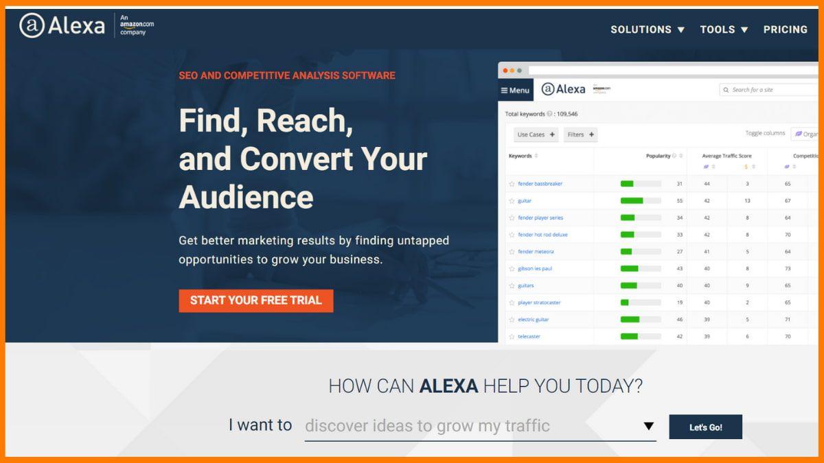 Alexa Website