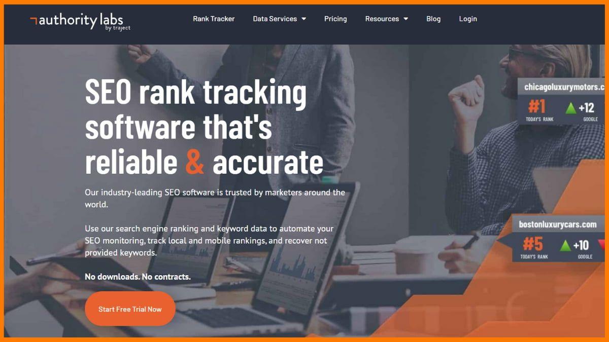 Authority Labs Website
