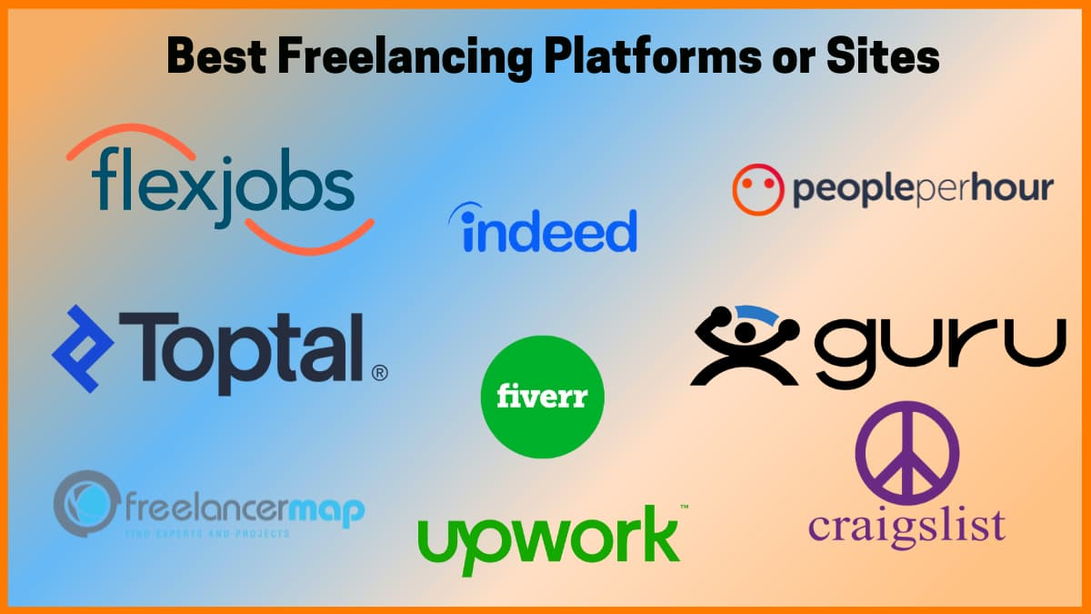Best freelancing platforms to find and hire freelancers.